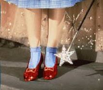 I NEED my Ruby Slippers to feel normal again!