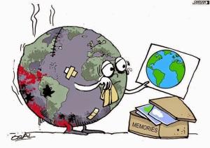 Bruised world